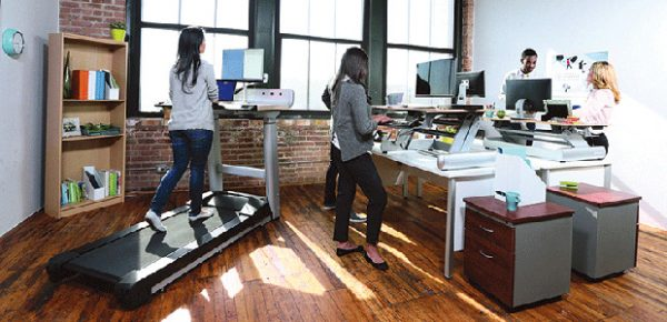 Benefits Of The Treadmill Desk Saxton Inc