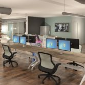 Commerican Interior Design Firm, Des Moines, Iowa, Saxton Inc.