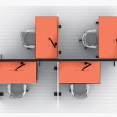 Height-Adjustable Tables with Technology Spine Considerations